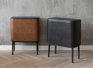 Brabantia's Bo Touch Bin styled by DutchDeluxes