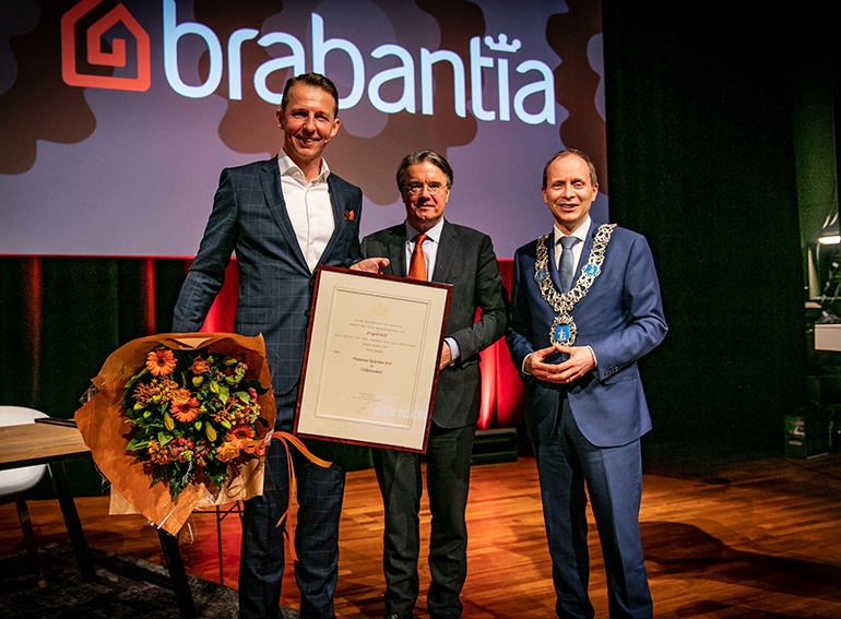 Prédicat Royal pour Brabantia.