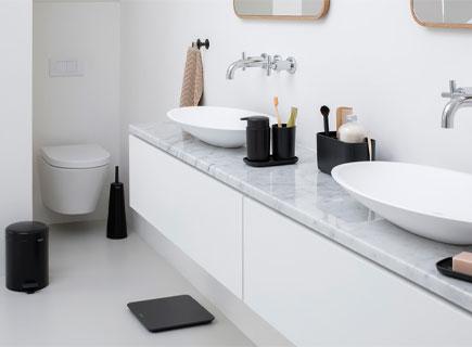 Les accessoires indispensables dans toutes les salles de bains.