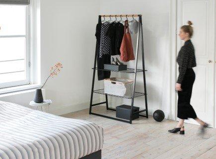 Organising your wardrobe .