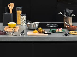 Kitchen utensils for amateur masterchefs.