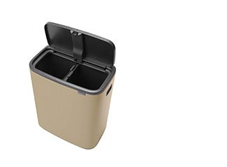 Bo Touch Bin, 2 x 30 litres.