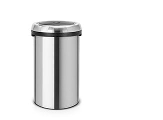Touch Bin with flat lid, 50 litre