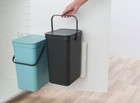 Built-in bin
