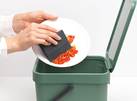 Dish squeegee.