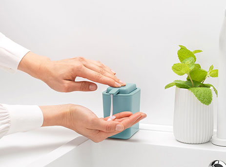 Soap dispenser.