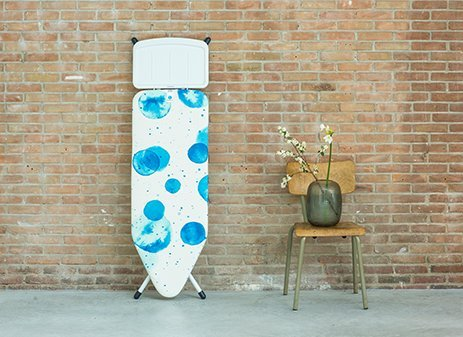 Ironing Board C, 124x45 cm, Solid Steam Unit Holder