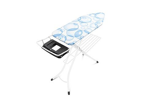 Ironing Board C, 124x45 cm, Foldable Steam Unit Holder
