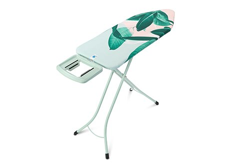 Ironing Board C, 124x45 cm, Solid Steam Iron Rest