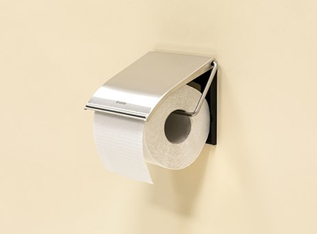 Toilet roll holder.