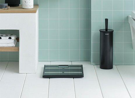 Toilet brush and holder - profile