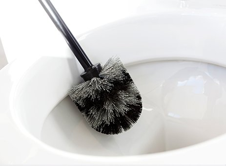 Replacement toilet brush - classic