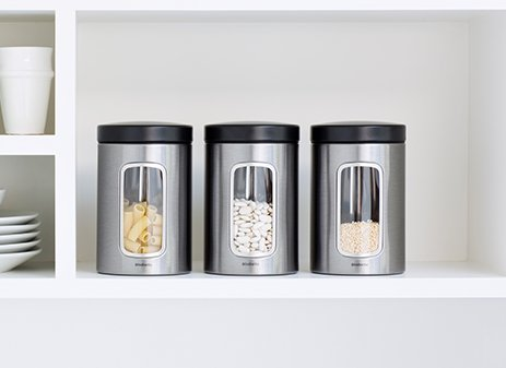 Window canister set, 1.4 litre