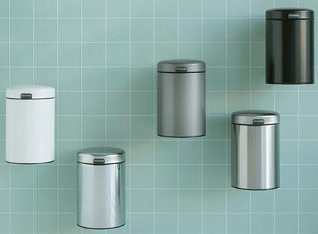 Wall mounted bin
