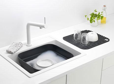 Washing bowl.