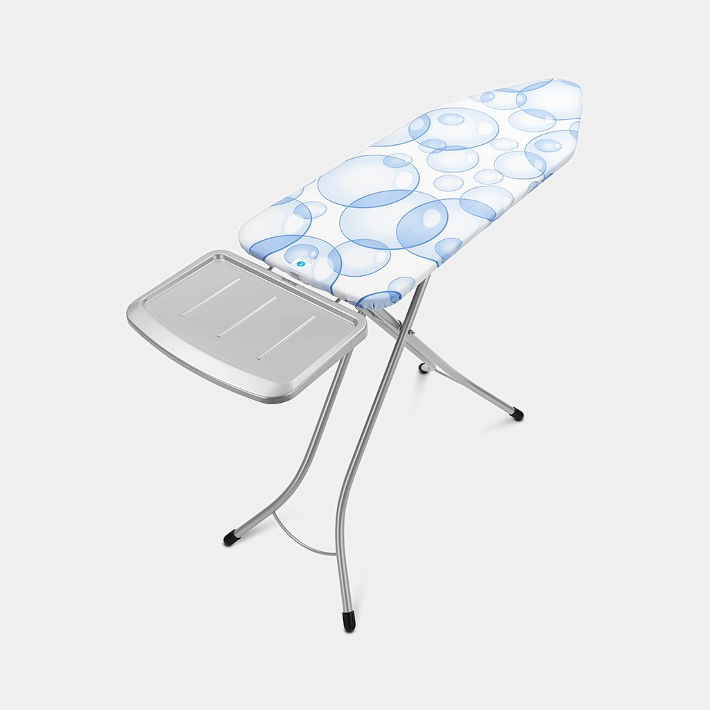 Bubbles Size C Brabantia Perfect Flow Ironing Board Cover with Fasteners Wide