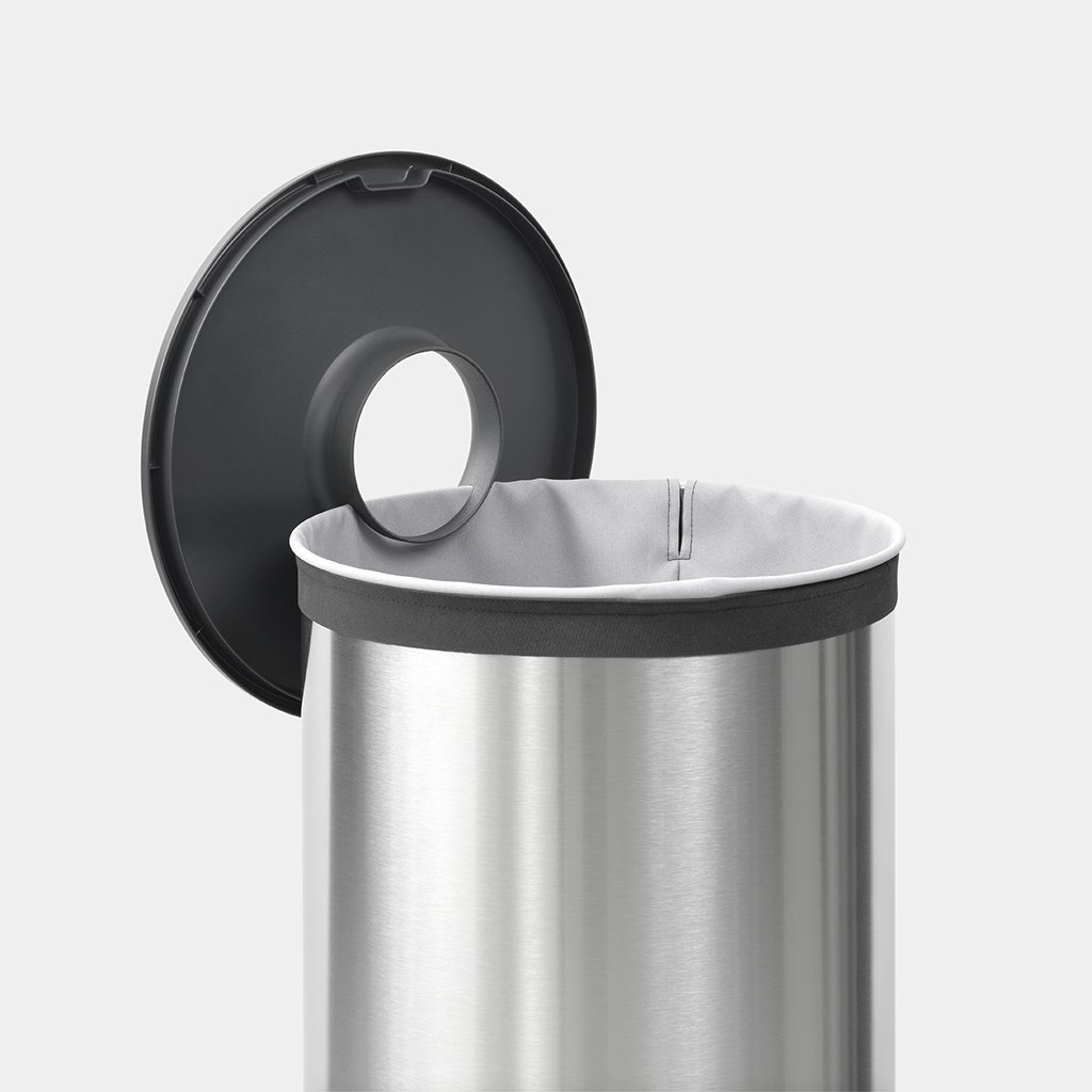 Brabantia Wasbox 50 Liter Matt Steel.Wasbox 60 Liter Matt Steel