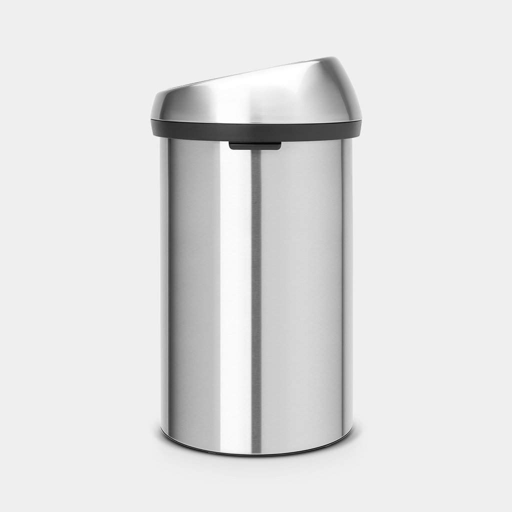 Brabantia Touch Bin Afvalverzamelaar 30 Liter.Touch Bin 60 Liter Matt Steel