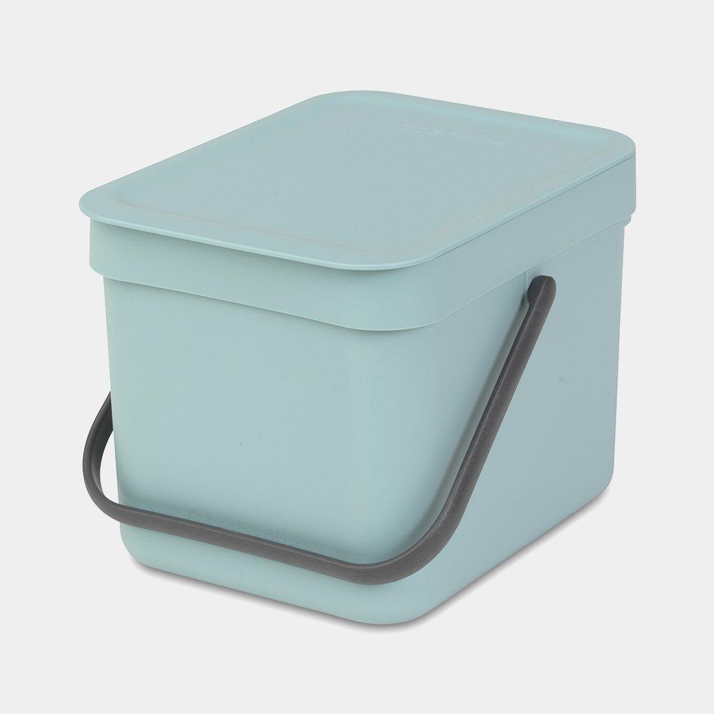 Brabantia Touch Bin 50l Aanbieding.Sort Go Waste Bin 6 Litre Mint