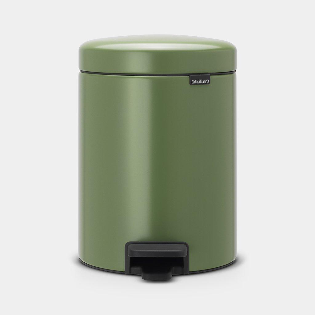 Brabantia Pedaalemmer 29 Liter.Pedaalemmer Newicon 5 Liter Moss Green