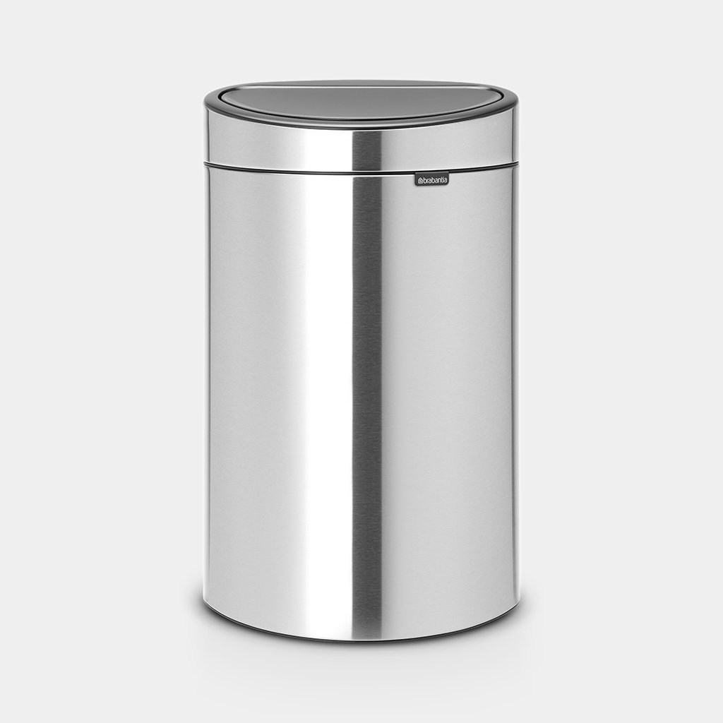 Afvalbak Touch Bin.Touch Bin New Recycle 23 10 Litre Matt Steel Fingerprint Proof
