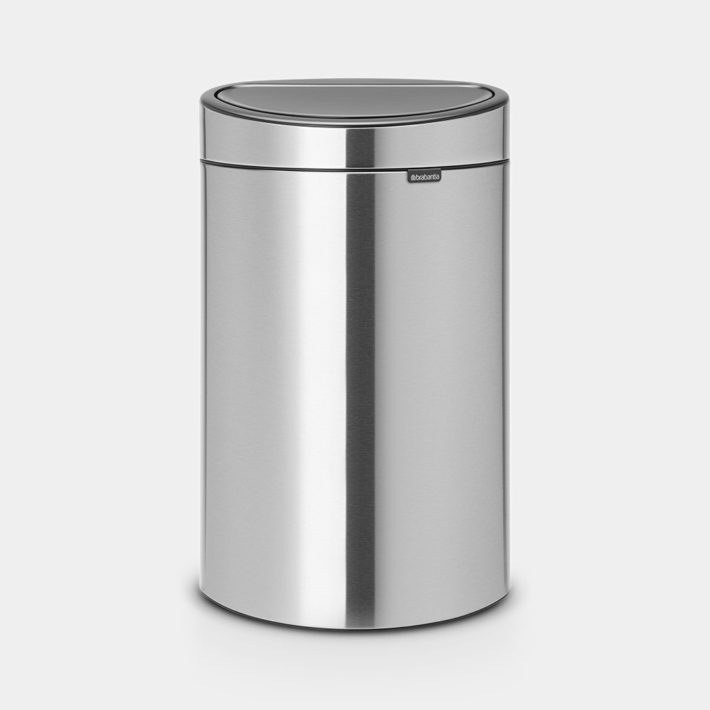 Garantie Brabantia Touch Bin 40 Liter.Touch Bin New 40 Liter Matt Steel