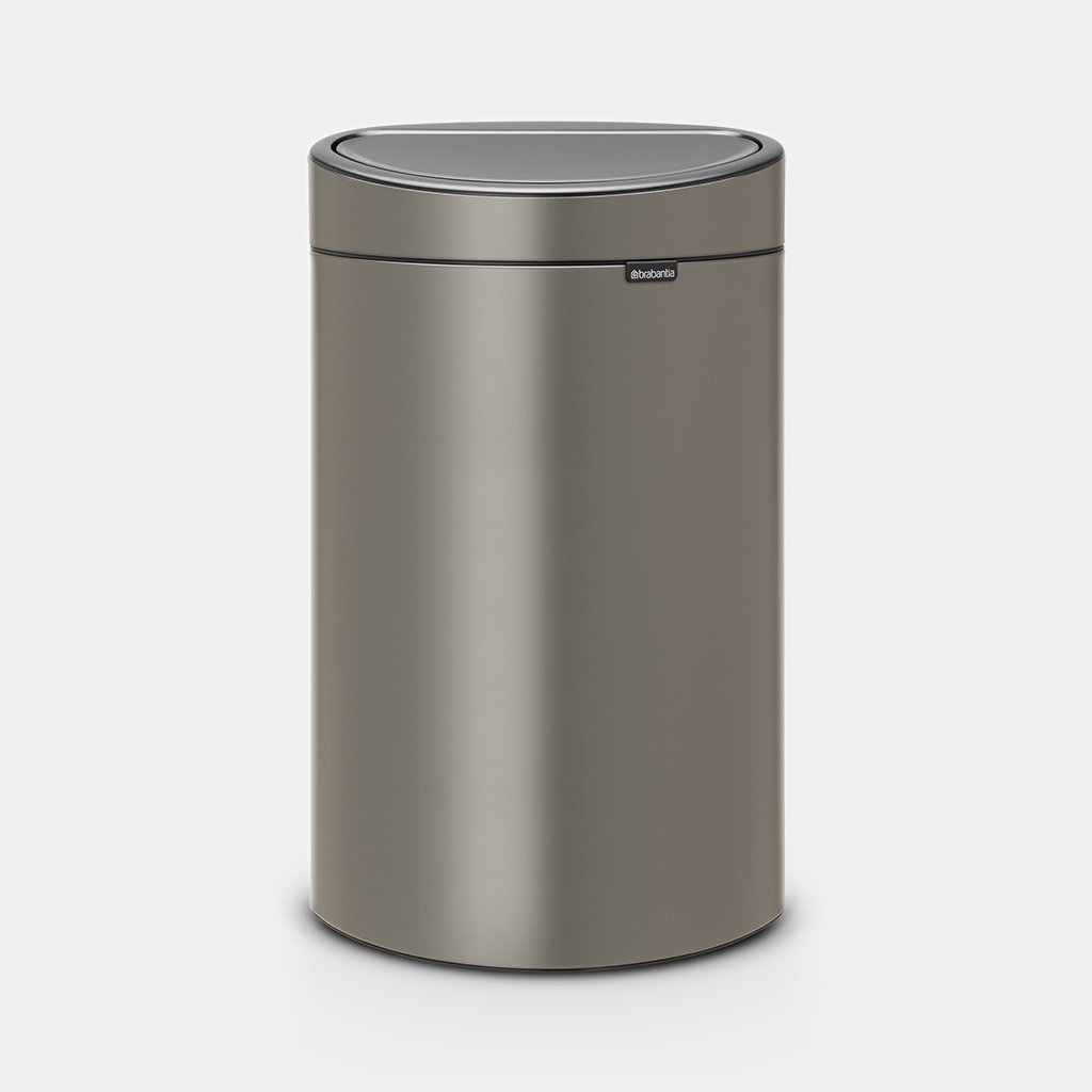 Garantie Brabantia Touch Bin 40 Liter.Touch Bin New 40 Liter Platinum