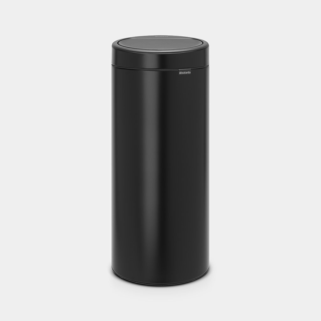 Touch Bin New 30 Liter Matt Black