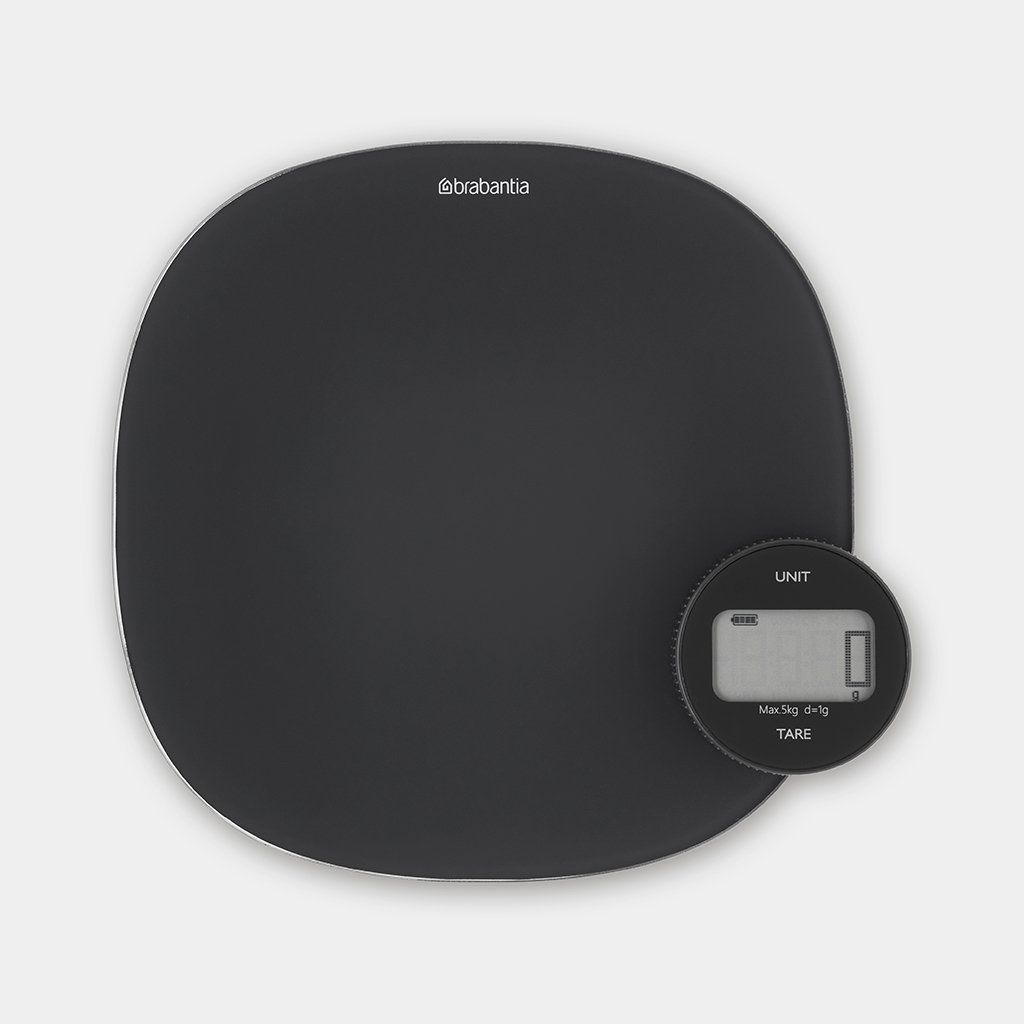 Kitchen Scales TASTY+ - Dark Grey | Brabantia