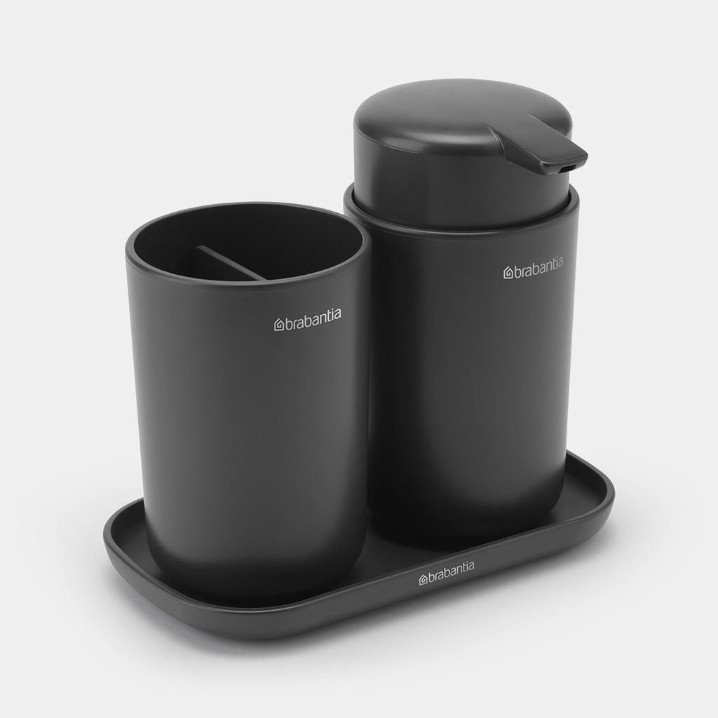 Bathroom Accessory Set Renew Of 3, Brabantia Bathroom Accessories