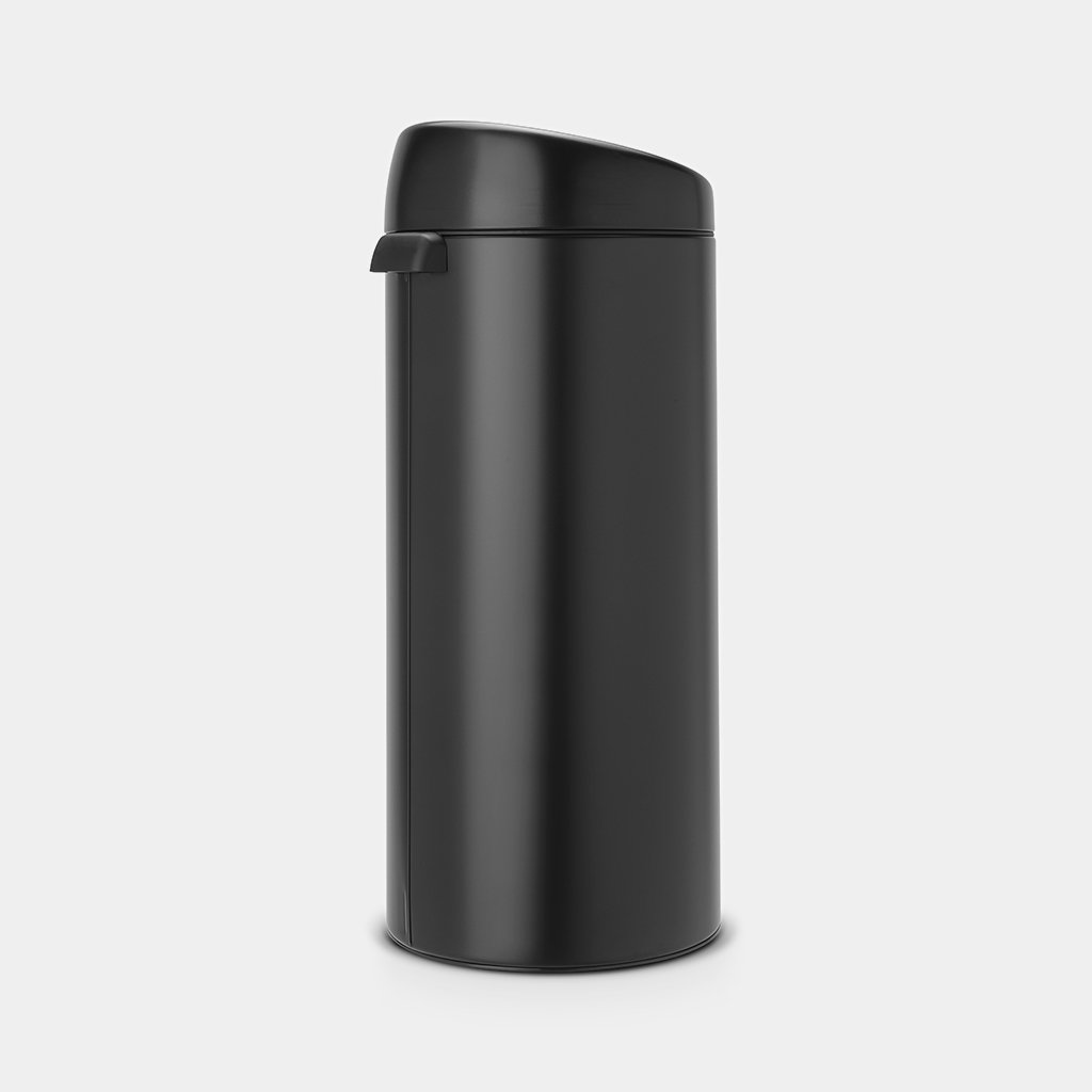 Brabantia Touch Bin Afvalverzamelaar 30 Liter.Touch Bin 30 Liter Matt Black