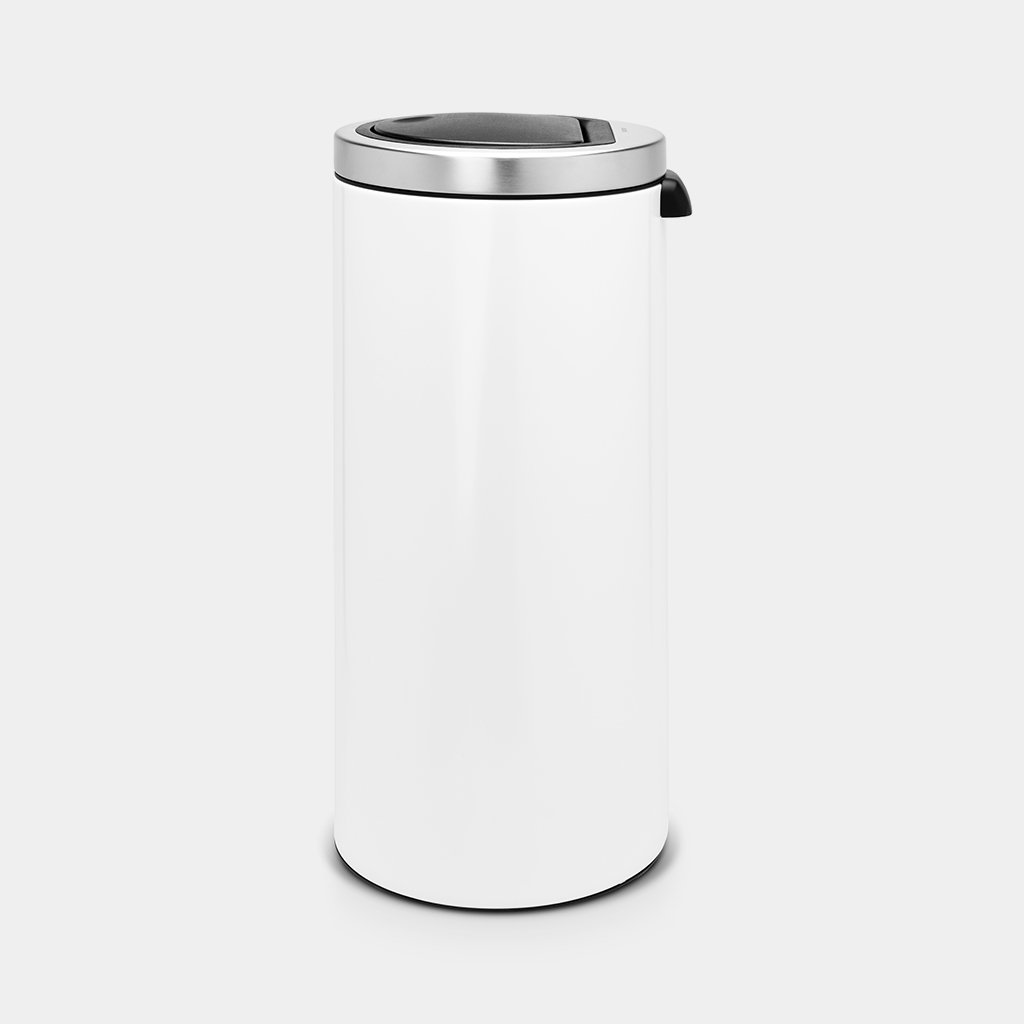 Brabantia Touch Bin 30 Liter Flat Top.Touch Bin 30 Litre White