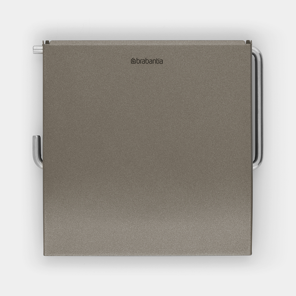 Brabantia 477300 Porte-Rouleau pour Papier Toilette Platinum