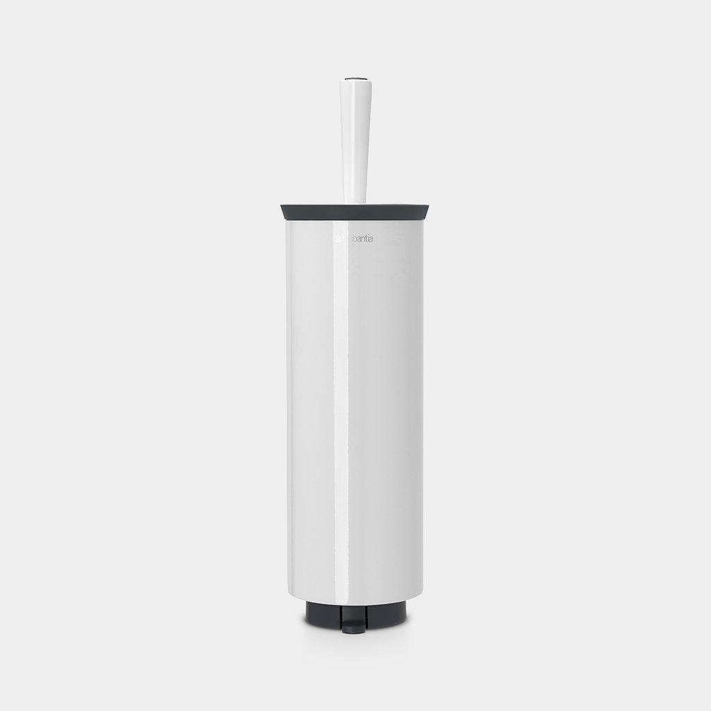 Brabantia Toilet Brush.Toilet Brush And Holder Profile Pure White Brabantia