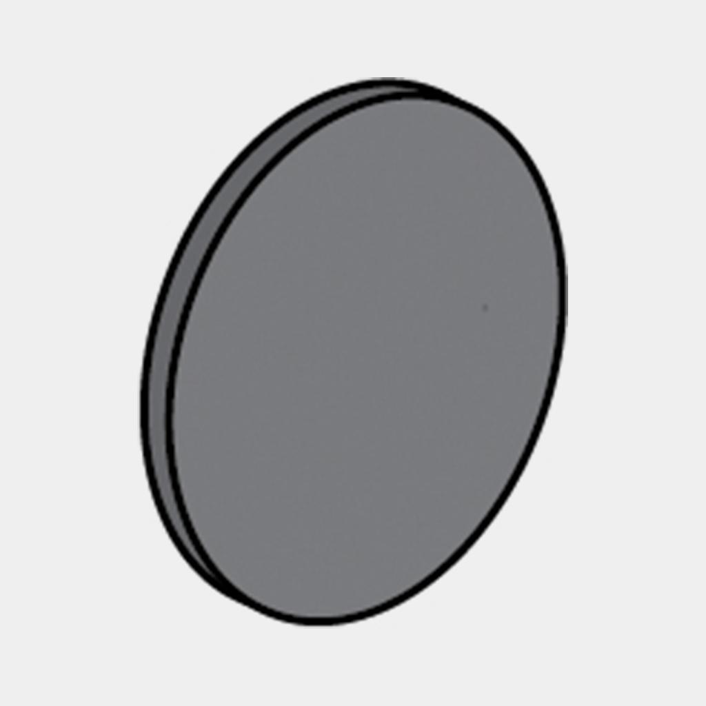 Cap for Towel Hook - Black