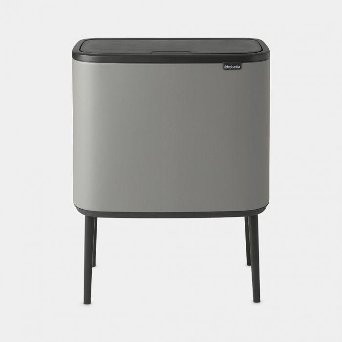 Brabantia Sort /& Go Abfallbehälter Müllbehälter Mülleimer Behälter Grey
