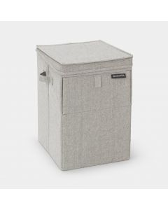 Stackable Laundry Box 35 litre - Grey
