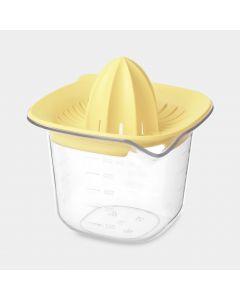 Misuratore graduato e Spremiagrumi TASTY+ - Vanilla Yellow
