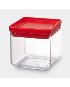 Vorratsdosen eckig 0.7 Liter - Tasty Colours Red