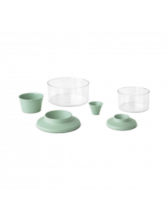 Regrow Kit For Herbs and Vegetables,TASTY+ - Jade Green
