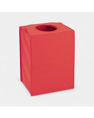 Wäschekorbtasche faltbar 55 Liter - Warm Red