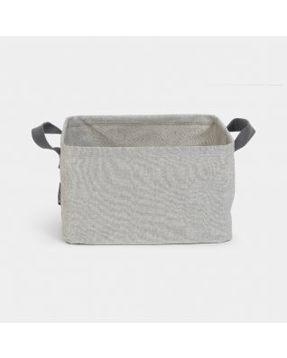 Foldable Laundry Basket 35 litre - Grey