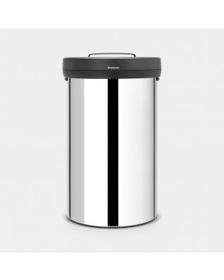 Big Bin 60 litre - Brilliant Steel