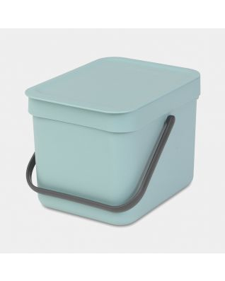 Sort & Go Waste Bin 6 litre - Mint