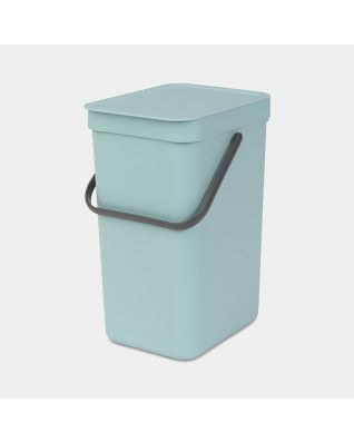Sort & Go Waste Bin 12 litre - Mint