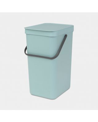 Sort & Go Waste Bin 16 litre - Mint
