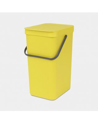 Pattumiera Sort & Go 16 litri - Yellow