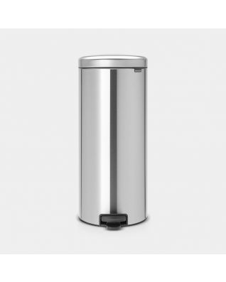 Pedaalemmer newIcon 30 liter - Matt Steel Fingerprint Proof