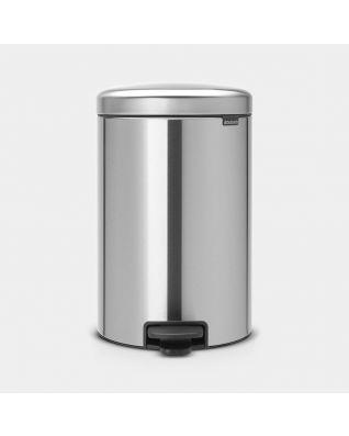 Pedal Bin newIcon 20 litre - Matt Steel