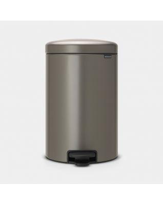 Pedal Bin newIcon 20 litre - Platinum
